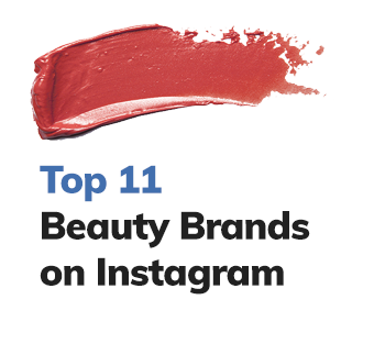 Top Beauty Brands on Instagram